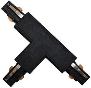 T-Kupplung 3F für Drehstromschiene schwarz links