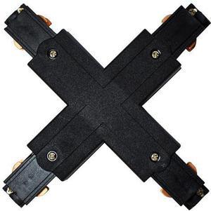 X Verbindungsstück für schwarzu 3-Phase Profil