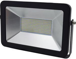 Schwarzer LED Strahler RB 100W Warmweiß