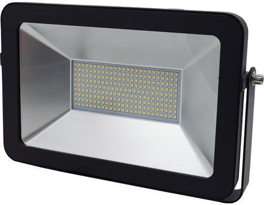 Schwarzer LED Strahler RB 100W Kaltweiß