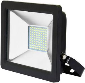 Schwarzer LED Strahler 30W city 5000K Tageslicht