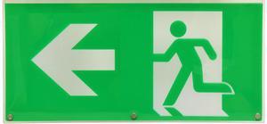 Piktogramm (pfeil zur Seite)