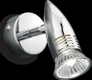 Ideal lux LED Alfa Cromo haengende Lampe 5W 89560