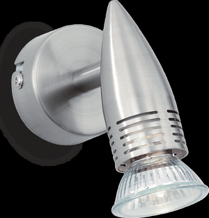 Ideal lux LED Alfa Nickel haengende Lampe 5W 9377