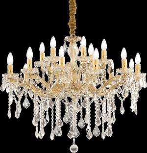 Ideal lux LED Florian Oro Kronleuchter 8x5W 75181
