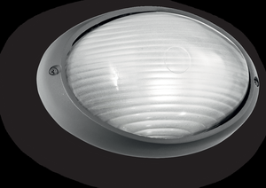 Ideal lux LED Mike 50 small anthrazite decken Lampe 5W 61788