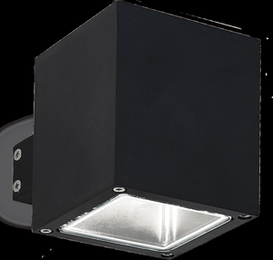 Ideal lux LED Snif square nero Wand Lampe 4,5W 123080