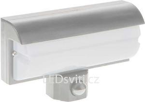 Wand LED Lampe 9,2W mit PIR Sensor silbernes