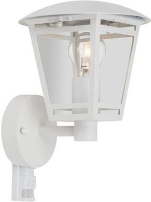 Weisse LED retro Lampe Wand mit Sensor 8W Warmweiß