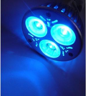 Farbige LED Lampe MR16 blau