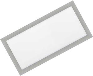 Silbern eingebauter LED Panel 300 x 600mm 30W Warmweiß