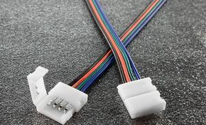 RGB Verbindung Click für LED Streifen mit Kabel