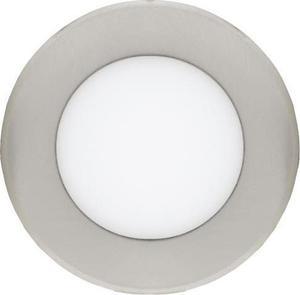 Dimmbarer chrom runder eingebauter LED Panel 120mm 6W Warmweiß