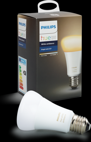 Philips HUE LED Lampe E27 9,5W 806lm 2200 6500K