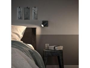 Philips LED Spotlicht GU10 10W Tageslicht schwarz Kosipo 50591/30/PN