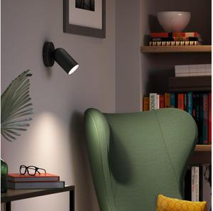 Philips LED Spotlicht GU10 10W Tageslicht schwarz Pongee 50581/30/PN
