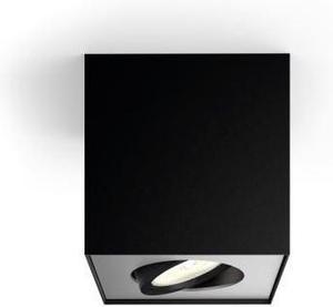 Philips LED Spotlicht 4,5W black Box Warmweiß 50491/30/P0