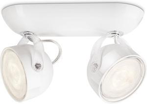 Philips LED Spotlicht 2x3W Dyna Warmweiß 53232/31/16