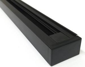 Schwarzer 1-Phasen Schiene system 1m