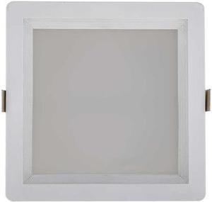 Quadratische LED deckenlampe 10W Warmweiß