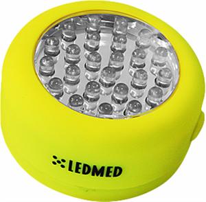LED TaschenLampe KOLO 1,5W gelb