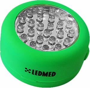 LED TaschenLampe KOLO 1,5W grün