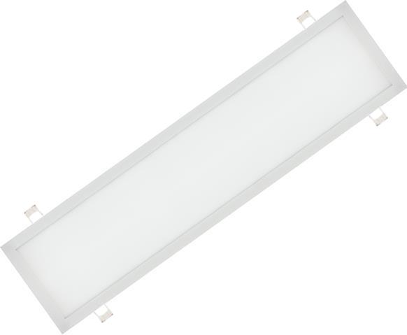 Weisser eingebauter LED Panel 300 x 1200mm 48W Kaltweiß