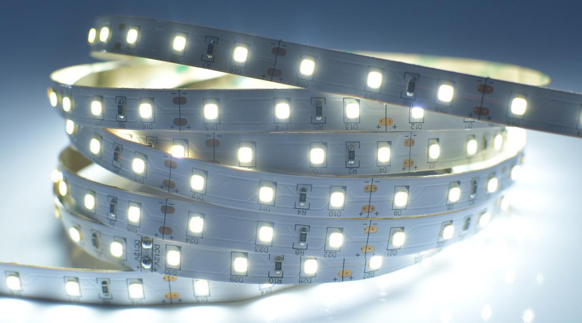 LED Streifen 6565SMD 12W/m ohne Schutz Kaltweiß