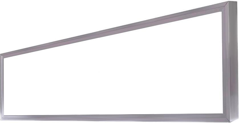 Dimmbarer Silbern LED Panel mit Rahmen 300 x 1200mm 48W Warmweiß