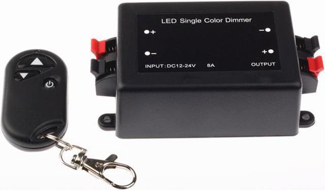 LED dimmer ECO-RF 24V 8A 192W