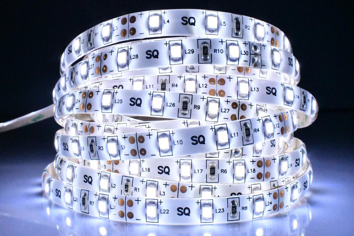 LED Streifen 4,8W/m mit Schutz Kaltweiß