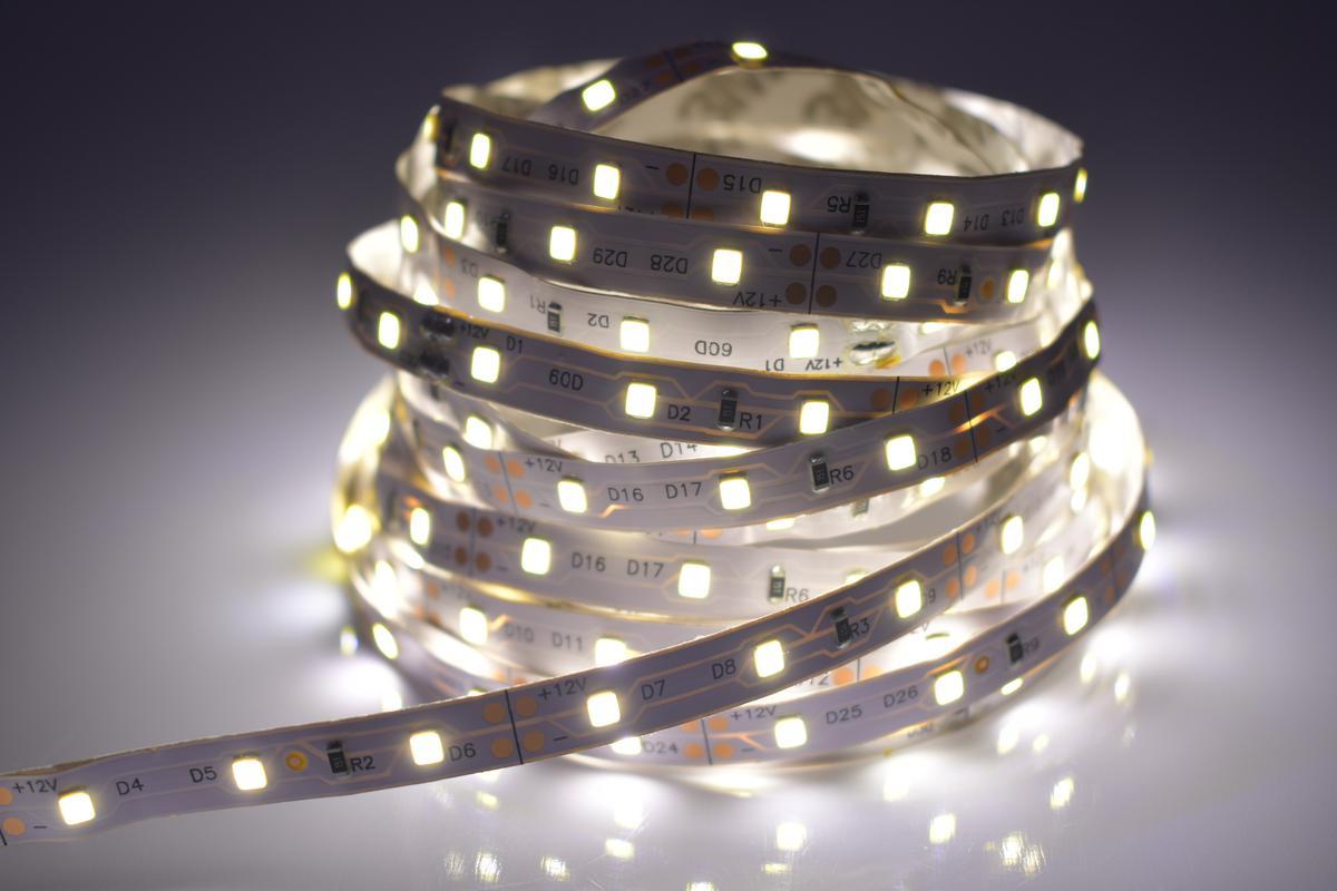 LED Streifen 4,8W/m ohne Schutz Tageslicht