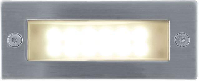 Eingebaute außen LED Lampe 1W 45 x 110mm Warmweiß