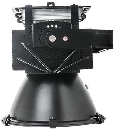 Schwarzer industriell LED Strahler 500W Warmweiß