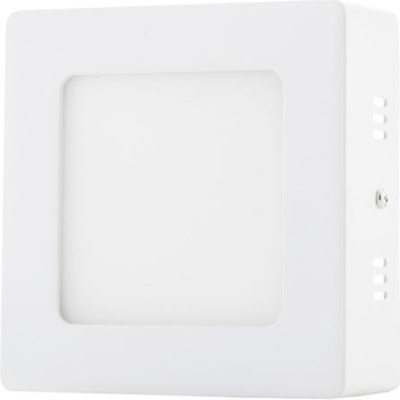 Weisser angebauter LED Panel 120 x 120mm 6W Tageslicht