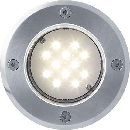 Boden einbaustrahler LED Lampe 12V 1W 12LED Warmweiß