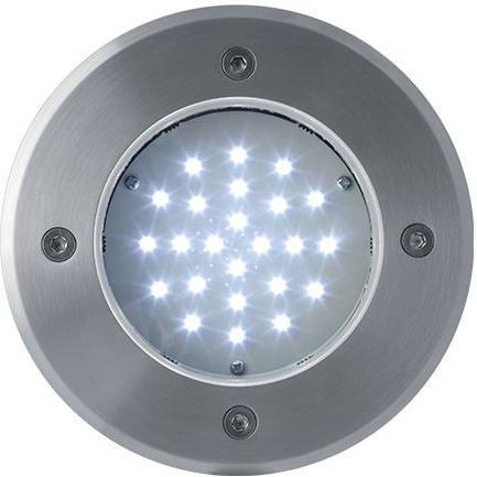 Boden einbaustrahler LED Lampe 12V 2W 24LED Kaltweiß