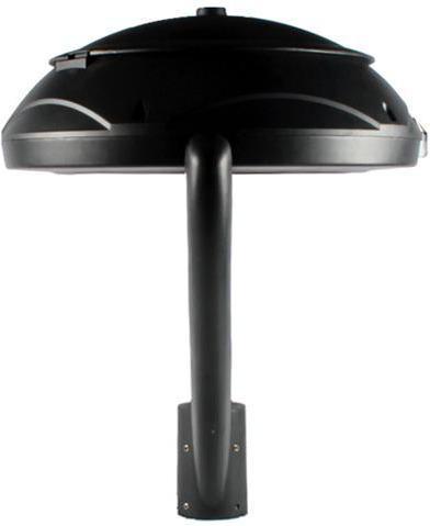 Schwarzes aufsetzbares außen Lampe 60W Warmweiß