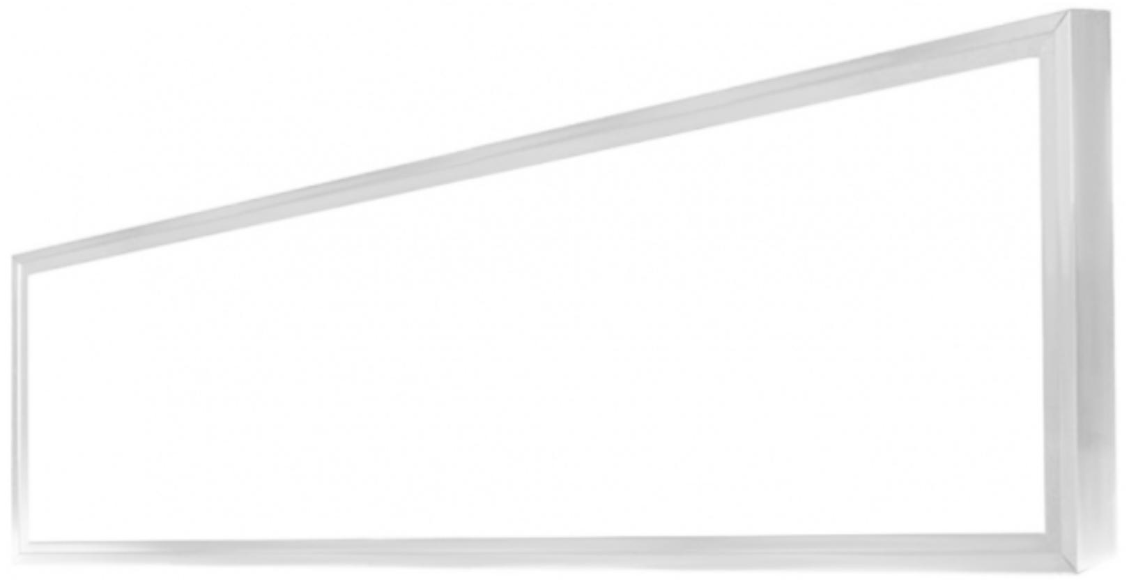 Weisser LED Panel mit Rahmen 300 x 1200mm 48W Warmweiß