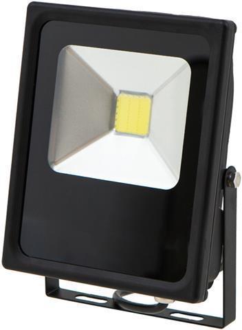 Schwarzer LED Strahler Daisy 20W Kaltweiß