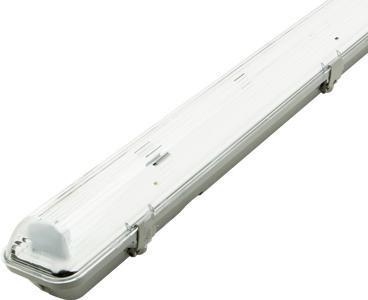 LED staubdicht Körper 1x 120cm (ohne Roehren)