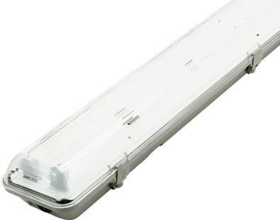 LED staubdicht Körper 2x 120cm (ohne Roehren)
