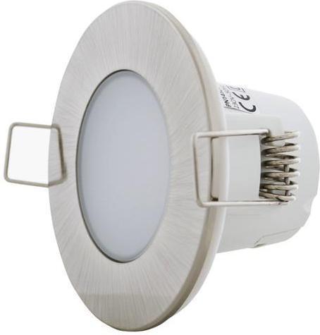 Geschliffener chrom eingebaute decken LED Lampe 5W Warmweiß