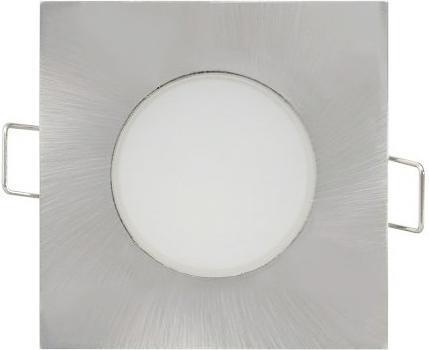 Geschliffener chrom eingebaute decken LED Lampe quadrat 5W Tageslicht