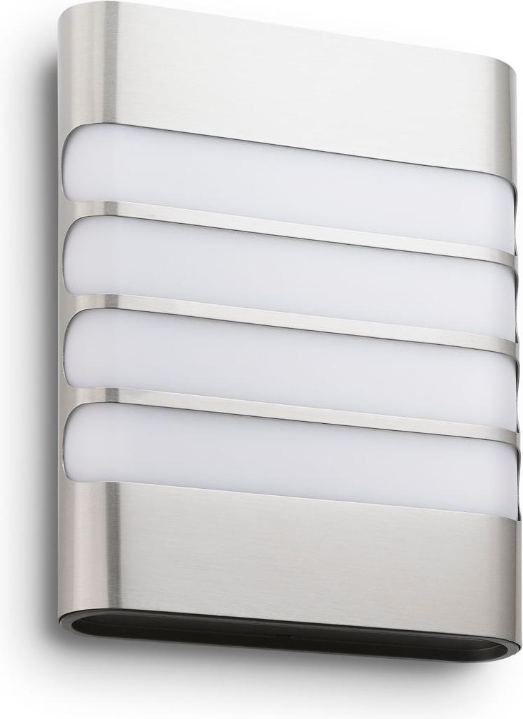 Philips LED Raccoon Lampe außen Wand edelstahl 3W selv 17273/47/16