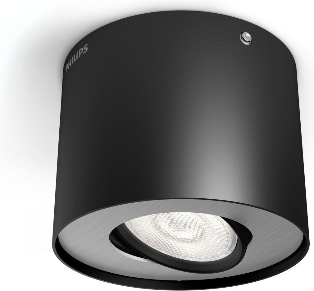 Philips LED Phase Einbauspot schwarz 4,5W selv 53300/30/16