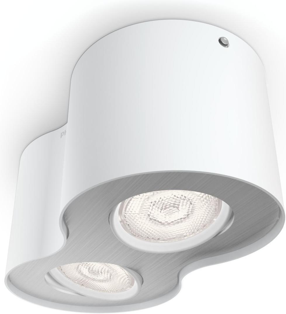 Philips LED Phase Einbauspot weisse 2x4,5W selv 53302/31/16