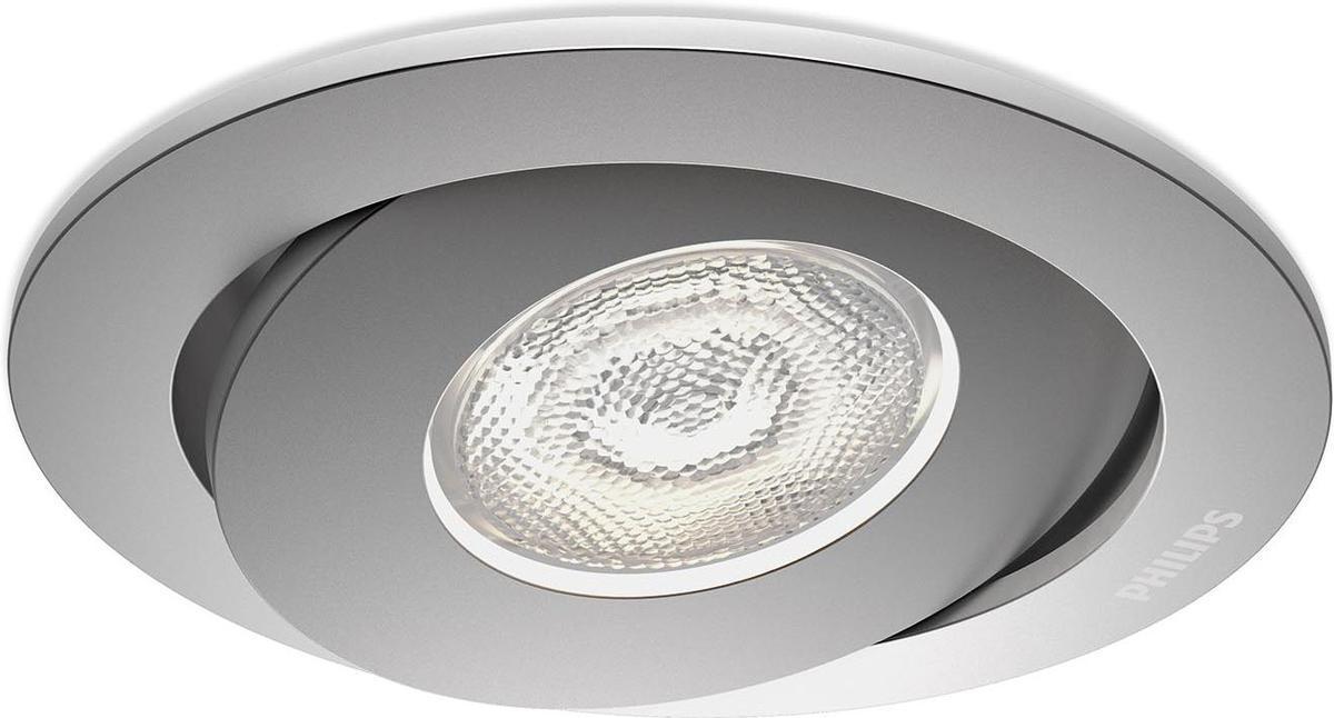 Philips LED Asterope Lampe eingebaute aluminium 4,5W selv 59180/48/16