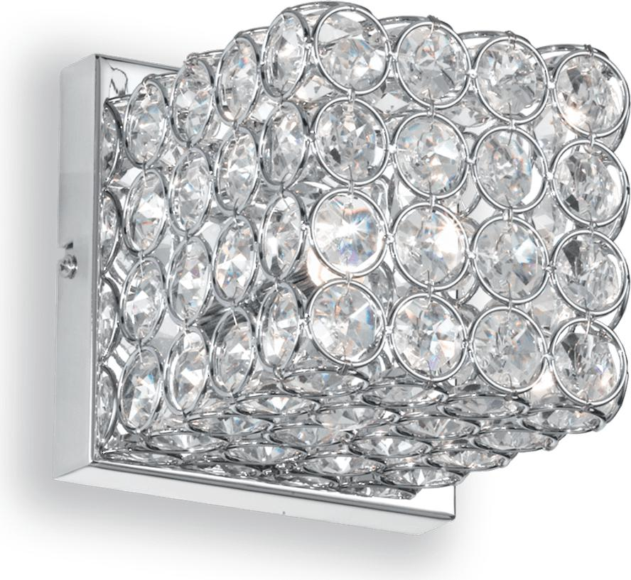 Ideal lux LED Admiral Cromo Wand Lampe 4,5W 80284