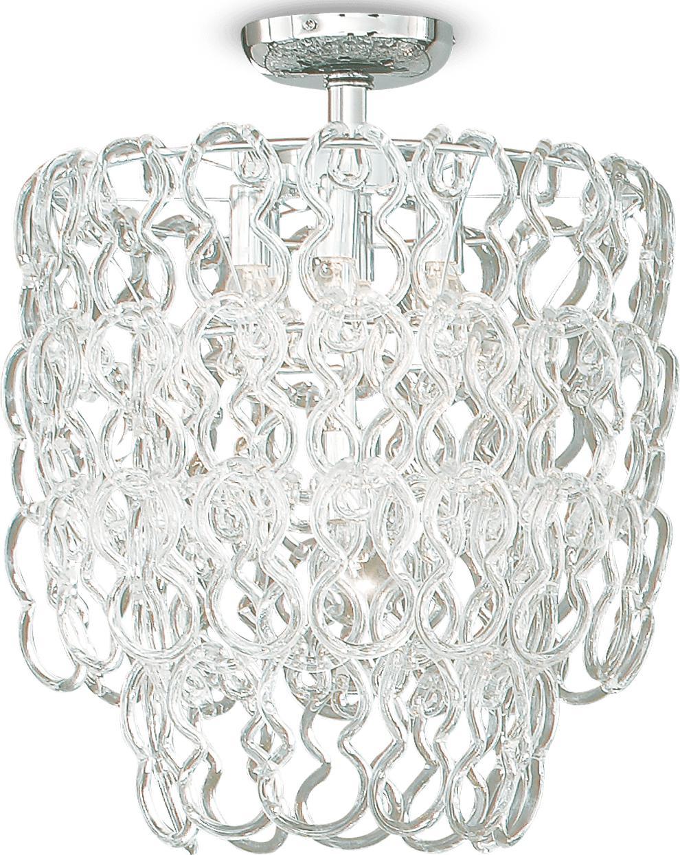 Ideal lux LED Alba decken Lampe 6x5W 25490